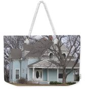 Blue House Weekender Tote Bag