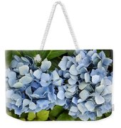 Blue Hydrangeas With Watercolor Effect Weekender Tote Bag
