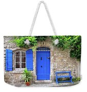 Blue In Provence France Weekender Tote Bag