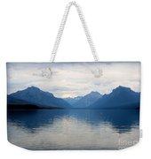 Blue Lake Mcdonald Weekender Tote Bag