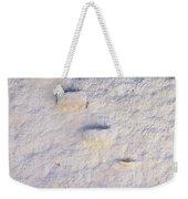 Blue Line Weekender Tote Bag