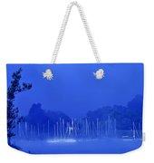 Blue Mondays Weekender Tote Bag