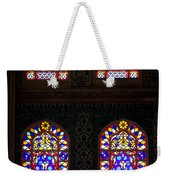 Blue Mosque Stained Glass Windows Weekender Tote Bag