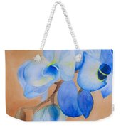 Blue Mystique Orchid Weekender Tote Bag