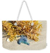 Blue On The Beach Weekender Tote Bag