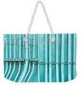 Blue Pipes Weekender Tote Bag by Tom Gowanlock