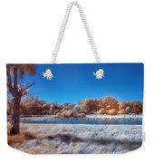 Blue Pond Weekender Tote Bag