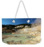 Blue Pools And Funaroles Weekender Tote Bag