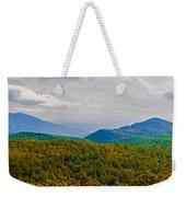 Blue Ridge Panorama Weekender Tote Bag
