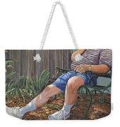 Blue Royal Weekender Tote Bag