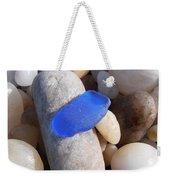 Blue Sea Glass Weekender Tote Bag