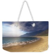 Blue Seas And Radient Sun Shine In This Weekender Tote Bag