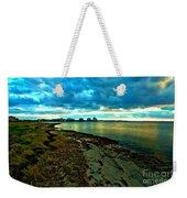 Blue Shores Weekender Tote Bag