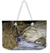 Blue Shovel Weekender Tote Bag
