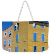 Blue Shutters Martigues France Weekender Tote Bag