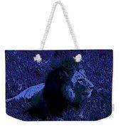 Blue Simba Weekender Tote Bag