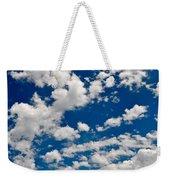 Blue Sky And Clouds Weekender Tote Bag