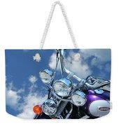 Blue Sky Harley Weekender Tote Bag