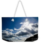 Blue Sky With Clouds Weekender Tote Bag