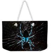 Blue Spider Weekender Tote Bag