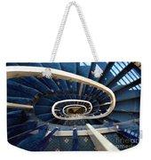 Blue Spiral Stairsway Weekender Tote Bag