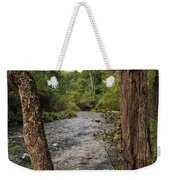 Blue Spring Branch Weekender Tote Bag