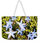 Blue Star Flowers Weekender Tote Bag