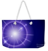 Blue Star Weekender Tote Bag