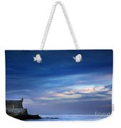 Blue Storm Weekender Tote Bag by Carlos Caetano