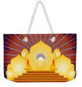 Blue Sun Temple 2012 Weekender Tote Bag