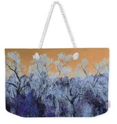 Blue Trees New Mexico Weekender Tote Bag
