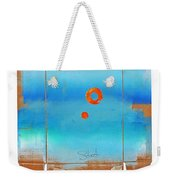 Blue Turner Walkabout Weekender Tote Bag