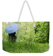 Blue Umbrella Weekender Tote Bag