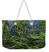Blue Water Green Grass Glacier National Park Weekender Tote Bag