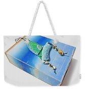 Blue Water Sailing Weekender Tote Bag