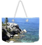 Blue Waters Of Lake Tahoe Weekender Tote Bag