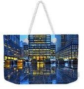 Blue York Weekender Tote Bag