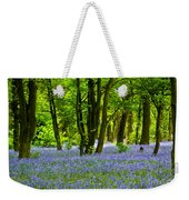 Bluebell Woods Weekender Tote Bag