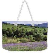 Bluebells In A Field, Sally Gap, County Weekender Tote Bag