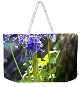 Bluebells In The Woods Weekender Tote Bag