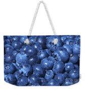 Blueberries With Waterdrops Weekender Tote Bag