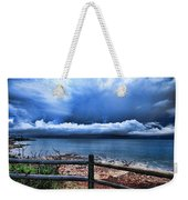 Bluer On The Other Side Weekender Tote Bag