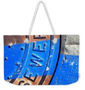 Bluer Sewer Three Weekender Tote Bag