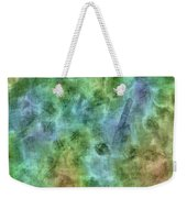 Bluetone Abstract Weekender Tote Bag