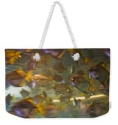 Blurred Image Of Fish Swimming In An Weekender Tote Bag