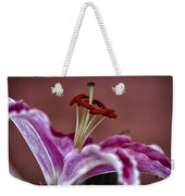 Blushing Bloom Weekender Tote Bag