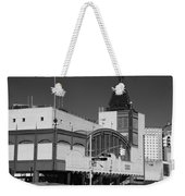 Bmt End Of The Line In Black And White Weekender Tote Bag