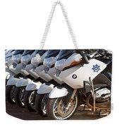 Bmw Police Motorcycles Weekender Tote Bag