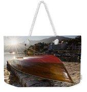 Boat And Sunlight Weekender Tote Bag
