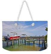 Boat Caddy Weekender Tote Bag
